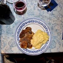 Ossobuco e patate
