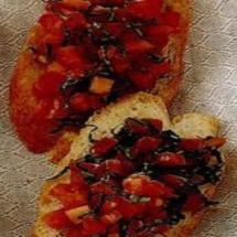 Bruschette pomodoro e origano