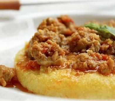 polenta e salsiccia