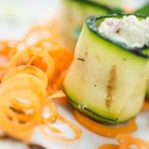 Rotolini zucchine e ricotta