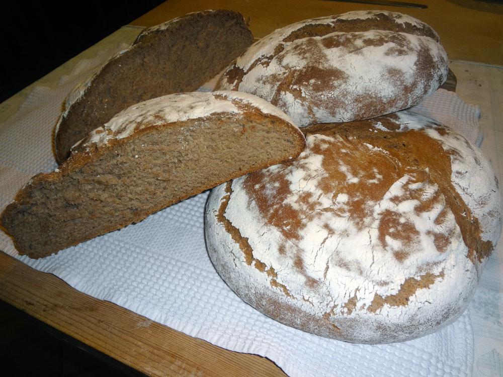 Pane integrale con gelatizzazione